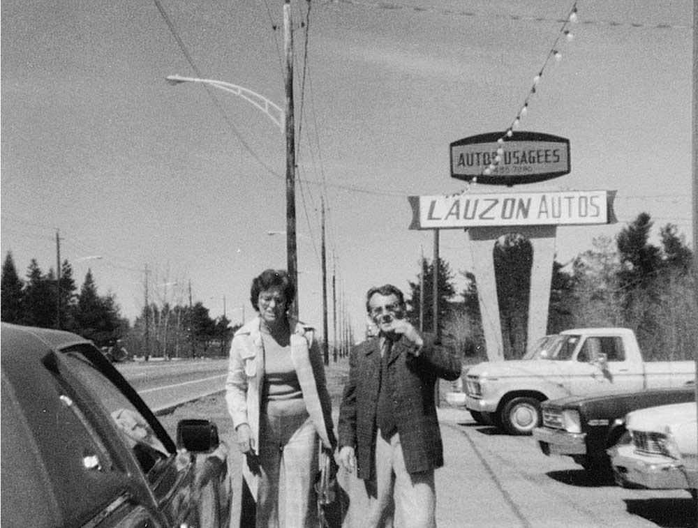 1971: RITA ET ERNEST LAUZON FONDATEURS