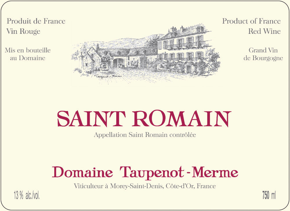 Saint-Romain Domaine Taupenot - Merme 2008