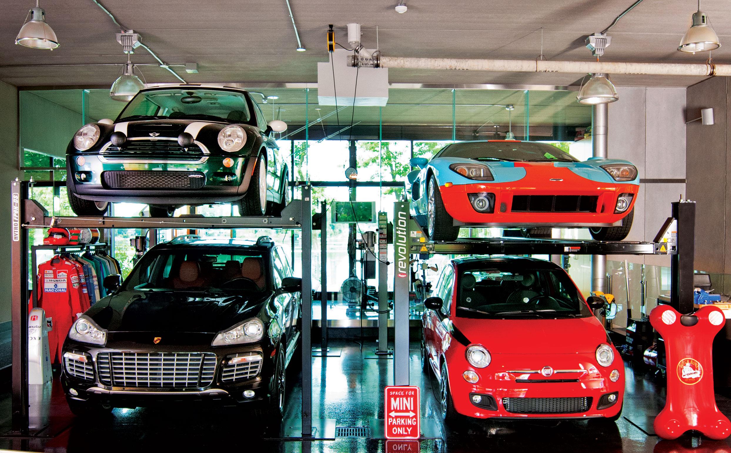 Des espaces de vie... pour les passionnés de voitures - MIXTE ...