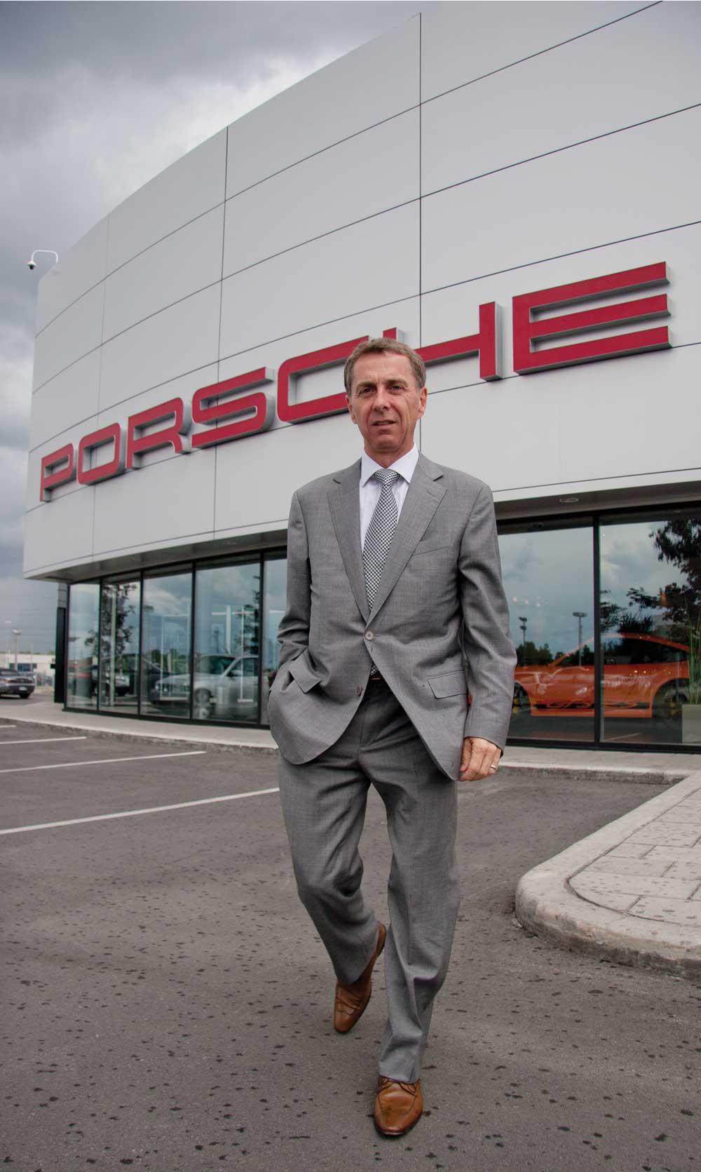 Michel lauzon, président actuel d'automobiles
