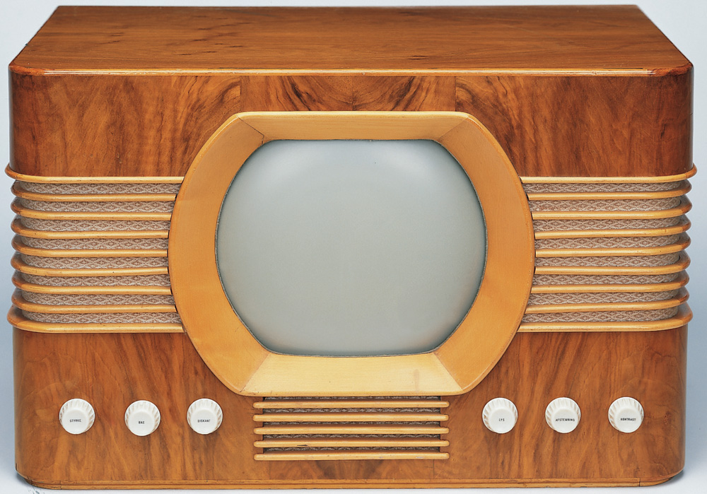 Who made the first television?
