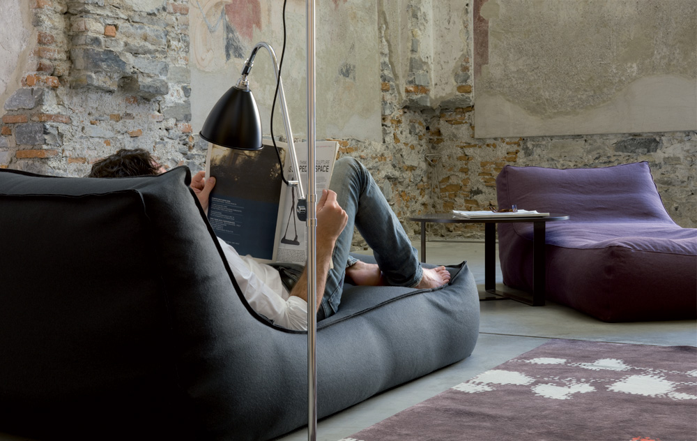 From the Lievore Altherr Molina studio in Barcelona, the Zoe chaise longue at Gibeault Design Inc.