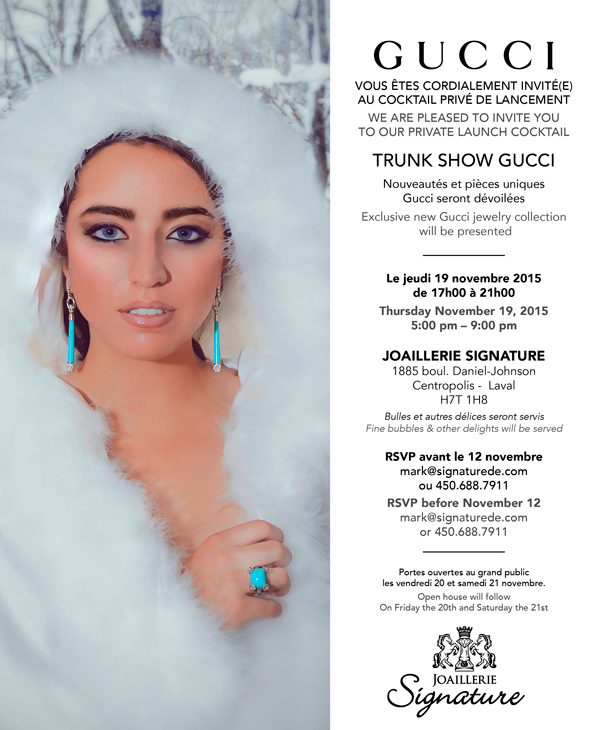 Trunk show Gucci