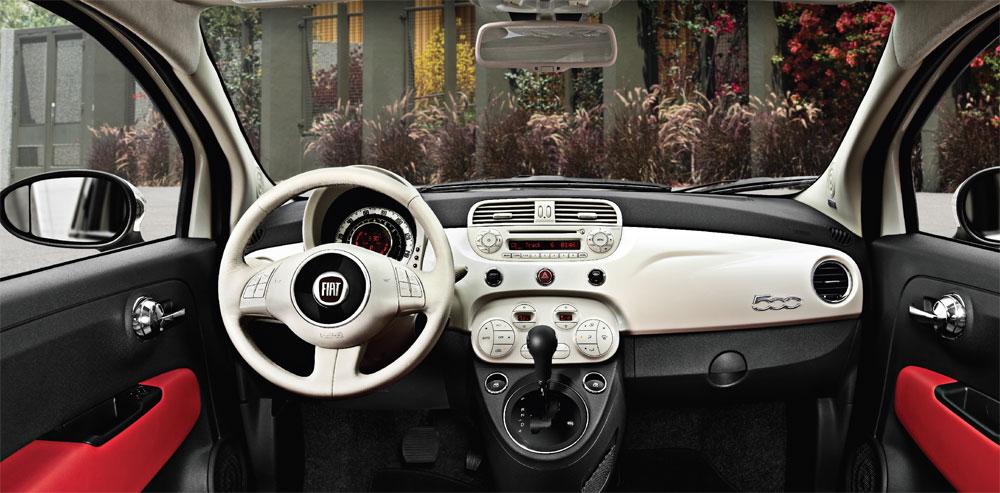 Fiat 500 - Intérieur