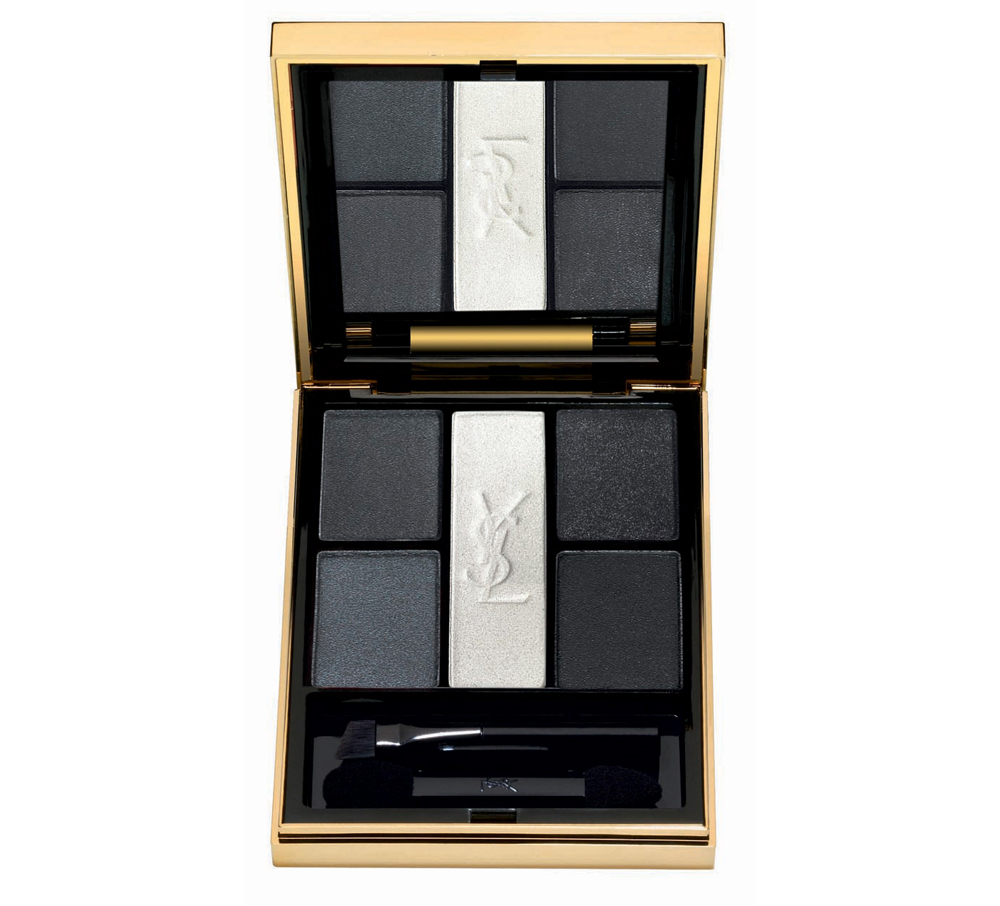 Palette de cinq ombres à paupières Noir Terriblement, Yves Saint Laurent
