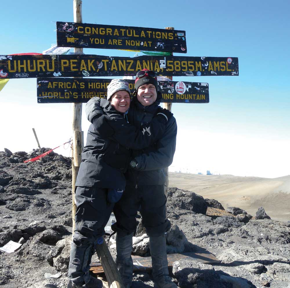 Kilimandjaro Januaryr 2009