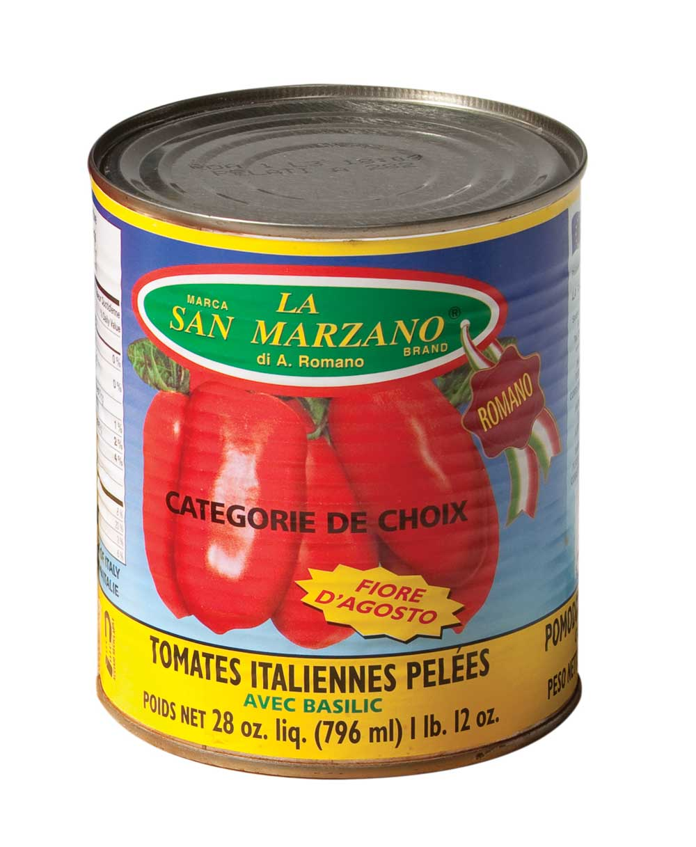 La tomate San Marzano