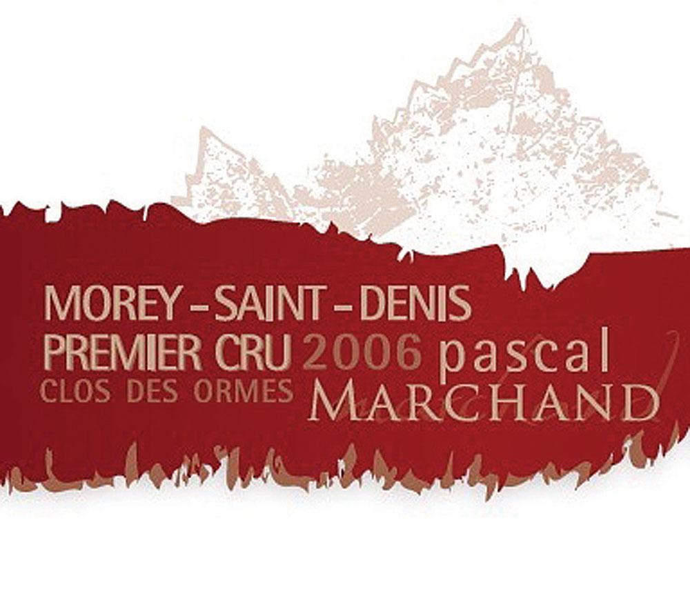 Morey Saint-Denis premier cru , Clos des Ormes, 2006 Pascal Marchand
