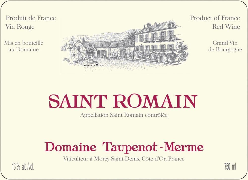 Saint-Romain Domaine Taupenot - Merme 2008