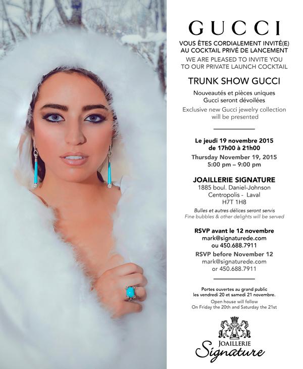 Trunk show Gucci